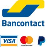 Topclimber payer avec bancontact, carte de crédit ou PayPal