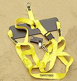 Topclimber bosun chair, a solo mastclimber